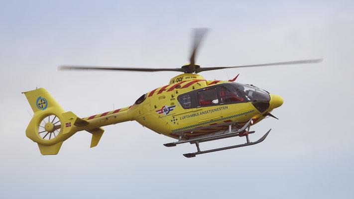 LN-OOF Eurocopter EC135P2 Norsk Luftambulanse