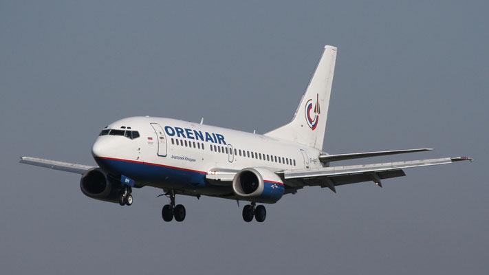 Boeing 737-500 · VP-BPF - Orenair