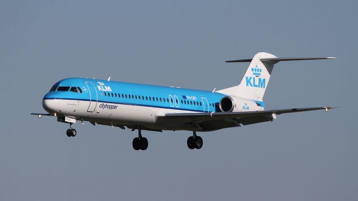 PH-OFP KLM Cityhopper Fokker F100