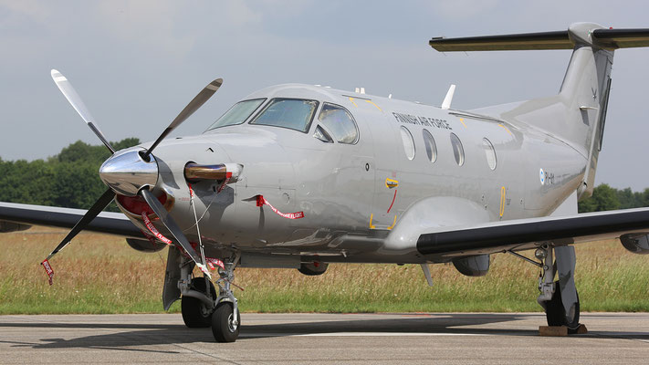 Pilatus PC-12-47 Finnish Air Force PI-01