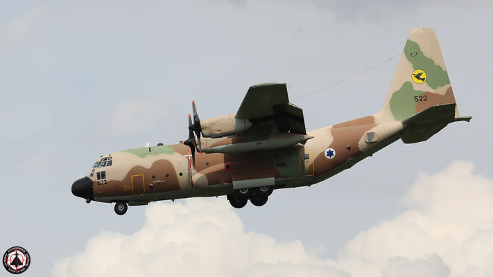 Israeli Air Force  Hercules C-130-H 522