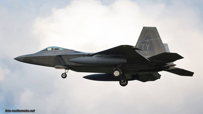 """05-4097 USAF F-22 """"Raptor"""""""