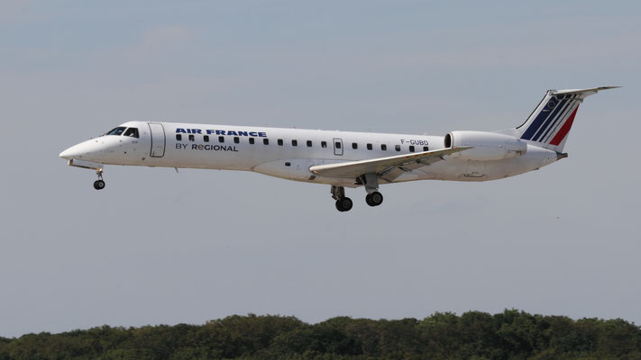 F - GUBD Embraer ERJ-145 MP Air France Regional