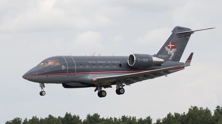 Royal Danish Air Force C-168 Challenger604