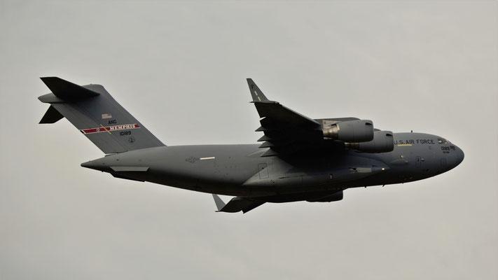 01-0189 US Air Force Boeing C-17A Globemaster III