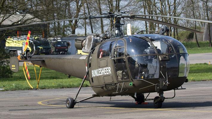 Austria Österreich Bundesheer Alouette III  3E-KM