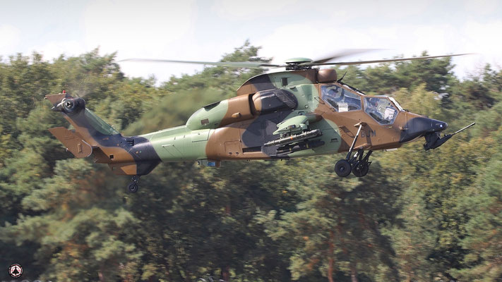 France  Army Eurocopter EC-665 Tiger HAD 6013 / BJM