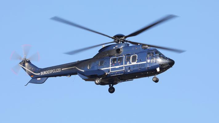 D-HEGU Bundespolizei Eurocopter AS 332 L1 Super Puma