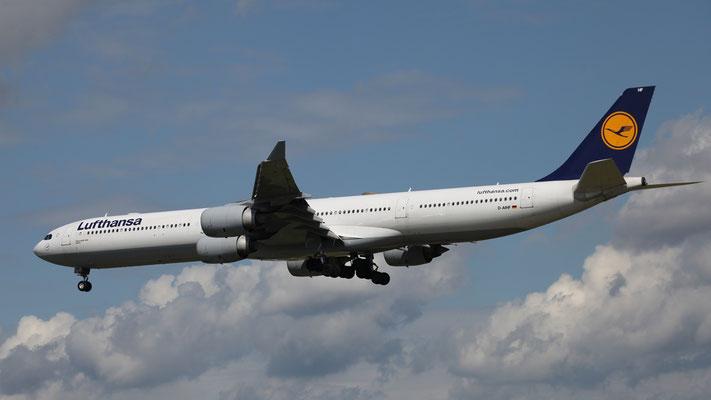 D-AIHF Lufthansa Airbus A340-642