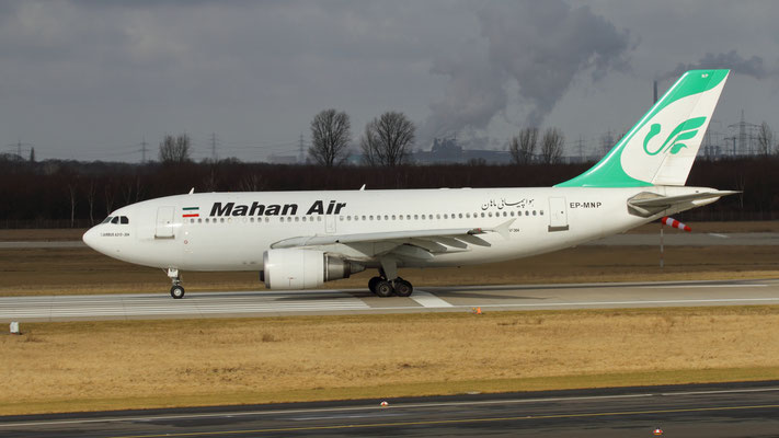 EP - MNP Airbus A310-304 Mahan Air
