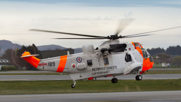 Sea King Mk43, 189. 330 Skv, Royal Norwegian AF
