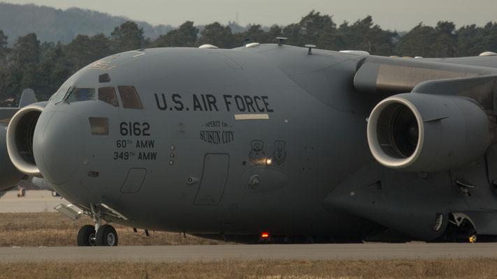 06-6162 USA Air Force Boeing C-17A Globemaster III