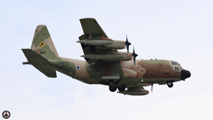 Israeli Air Force  Hercules C-130-H 545