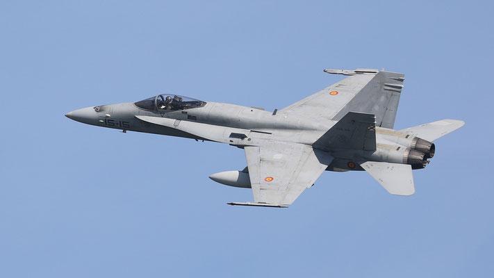 Spanish Airforce 15-15  C.15-28 EF-18M Ala15