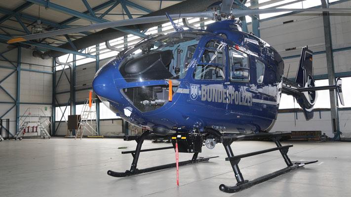 D-HVBW Bundespolizei Eurocopter EC-135 T-1