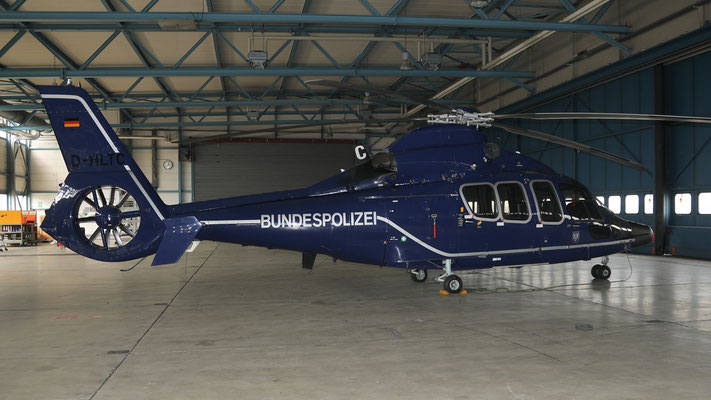 D-HLTC  Bundespolizei Eurocopter EC 155B Dauphin