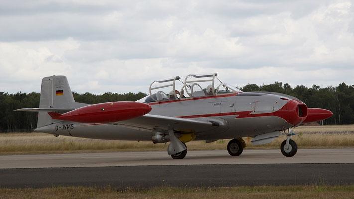 Hispano Aviación HA-200D Saeta; Spanischer StrahltrainerErstflug 1955 - produziert 1962-1971 102 Stück Bild:D-IWMS - Messerschmitt Stiftung