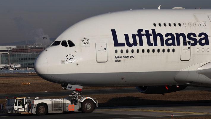 D-AIMG Lufthansa Airbus A380-800 Wien