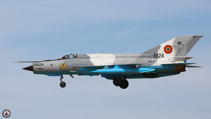 6824 Romanian Air Force Mikoyan-Gurevich Mig-21MF