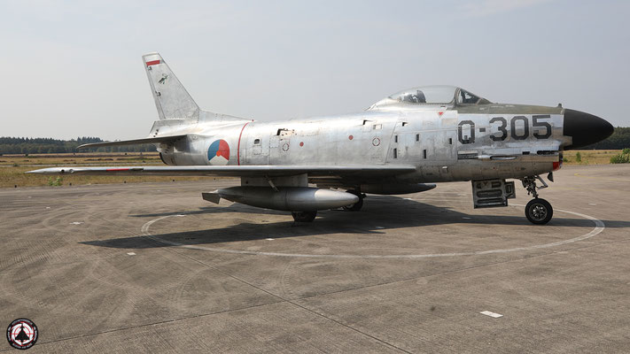 Q-305 - North American F-86K Sabre Netherlands Air Force