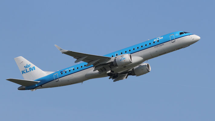 PH - EZM Embraer ERJ-190-100 KLM Cityhopper