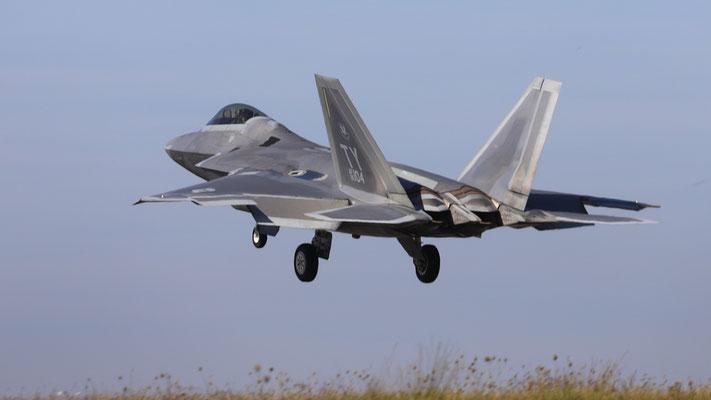 05-4104 USAF F-22 Raptor TY