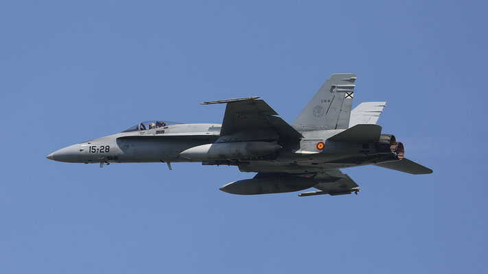 Spanish Airforce  15-28 C.15-41EF-18M Ala15
