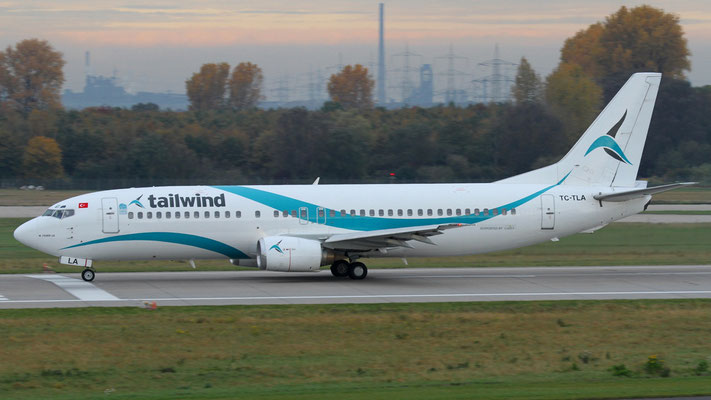 TC - TLA Boeing 737-4Q8 Tailwind Airlines