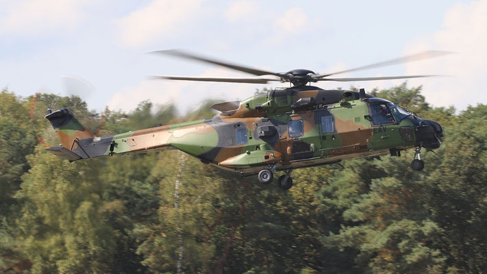Helicopter NH Industries NH90 TTH EAV  French Army