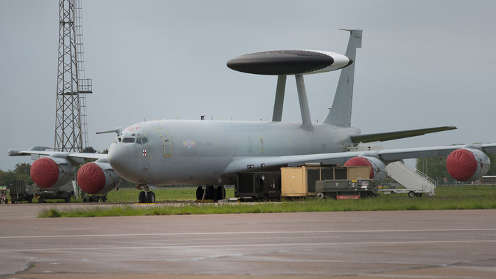 ZH101 Royal Air Force  E3 Sentry AEW1