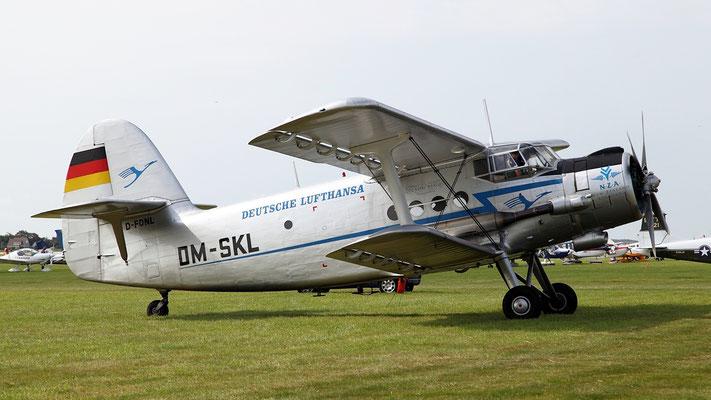 Antonov An-2S - D-FONL