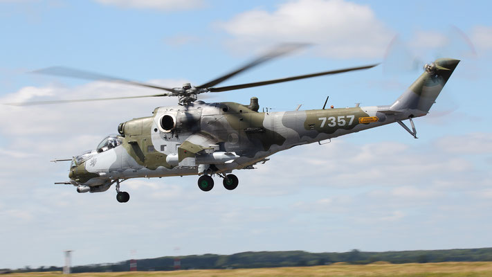 Czech Air Force Mil Mi-24V 7357