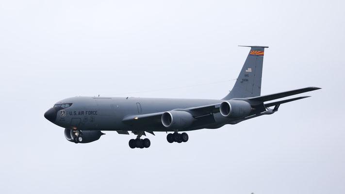 61-0284 USAF United States Air Force Boeing KC-135R Stratotanker