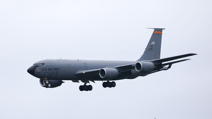 61-0284 USAF United States Air Force Boeing KC-135R Stratotanker