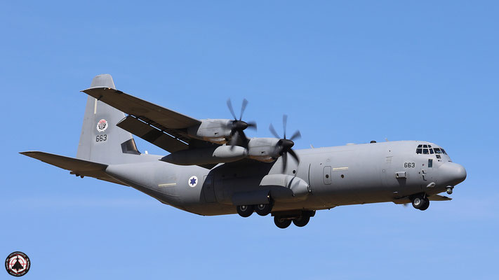 Israeli Air Force Hercules C-130-J 663