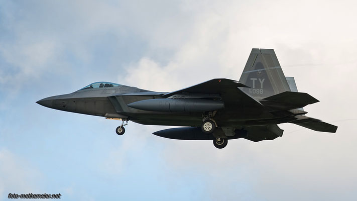"""05-4098 USAF F-22 """"Raptor"""""""