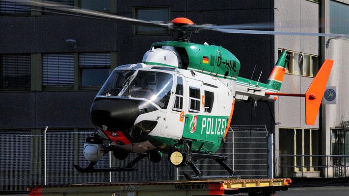 Polizei Nordrhein-Westfalen Messerschmitt-Bölkow-Blohm-(MBB) BK 117  D-HNWL