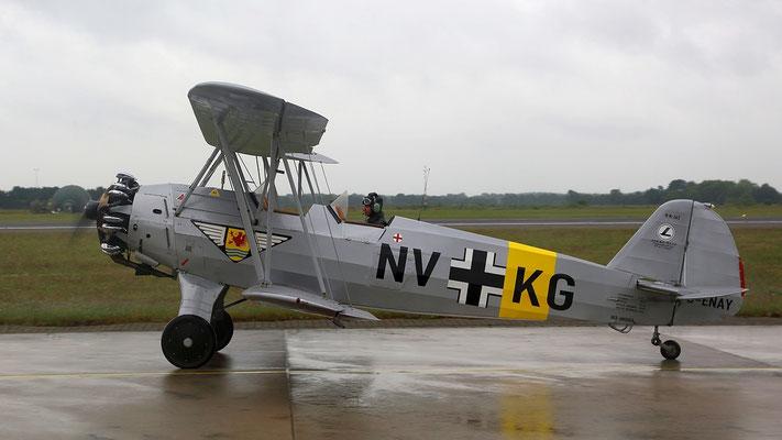 Focke-Wulf Fw 44J Stieglitz Erstflug 1932 Bild: D-ENAY