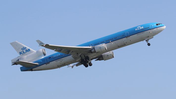 PH-KCB KLM Royal Dutch Airlines McDonnell Douglas MD-11