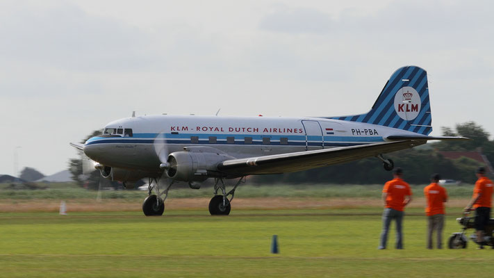 Douglas DC-3 Dakota PH-PBA *The Flying Dutchman* build in 1944 ex US Airforce C-47
