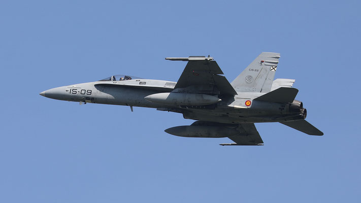 Spanish Airforce 15-09  C.15-22 EF-18M