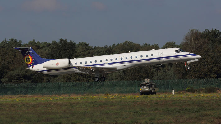 CE-04 Belgian Air Force Embraer ERJ-145LR