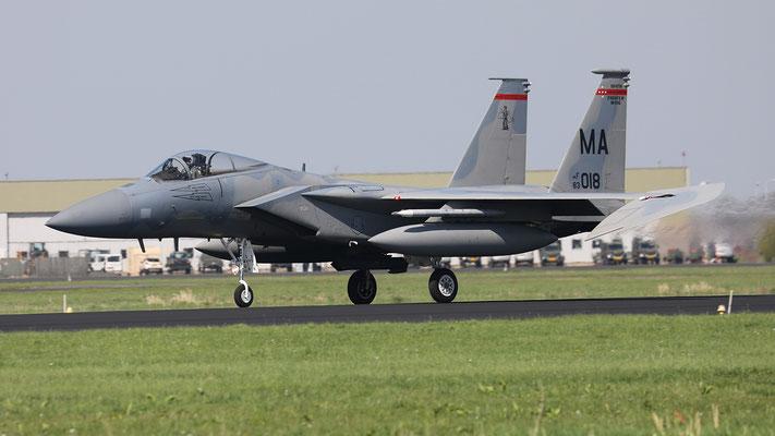 USAF F-15C MA 83-018 131FS/104FW