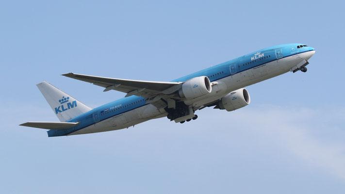 PH-BQH KLM Royal Dutch Airlines Boeing 777-206(ER)