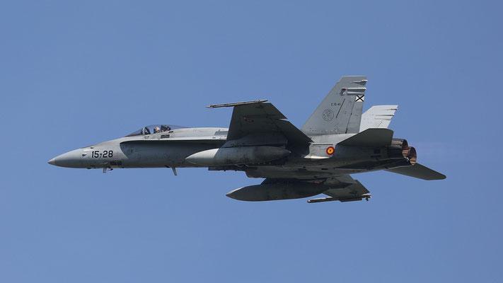 Spanish Airforce  15-28 C.15-41EF-18M Ala15