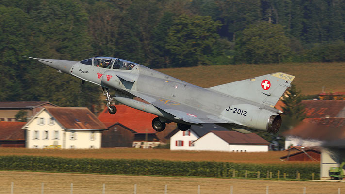 Mirage III DS  HB-RDF ex J-2012 Swiss Airforce