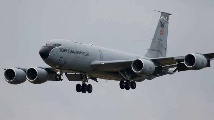 62-3563 - Boeing KC-135R Stratotanker - Turkish Air Force
