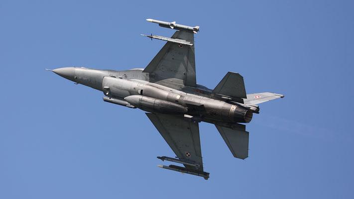 Polish Airforce F-16C 4042 31.BLT