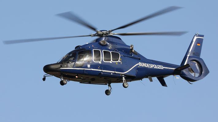 D-HLTJ Bundespolizei Eurocopter EC 155B Dauphin