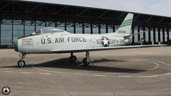 FU-385 (52-5385) North American F-86F-35-NA Sabre